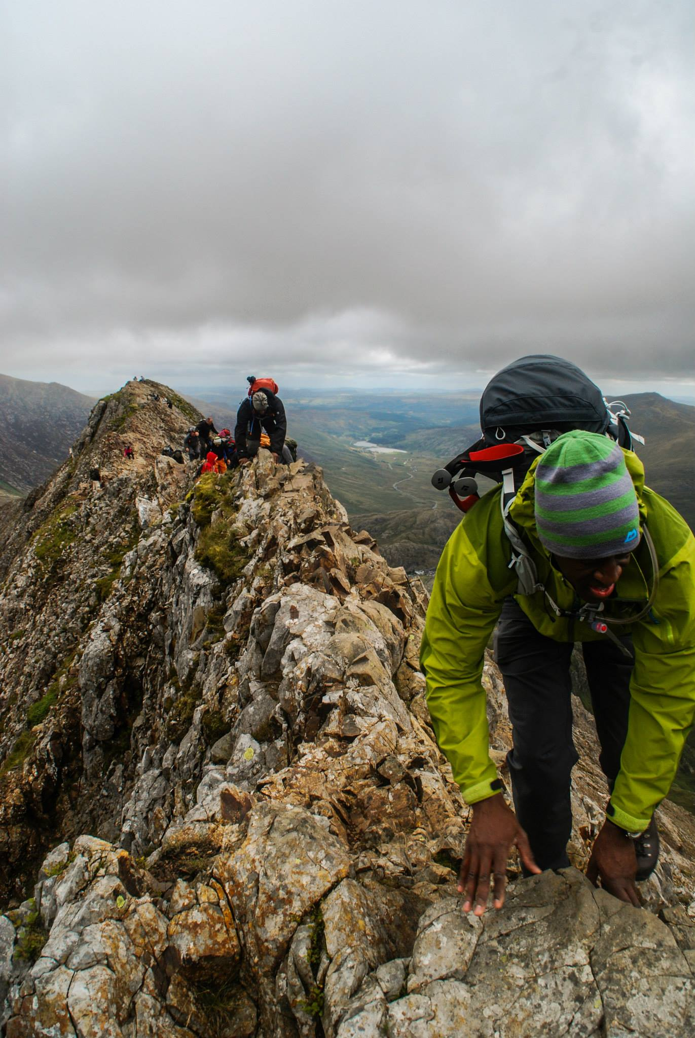Introduction to scrambling snowdonia