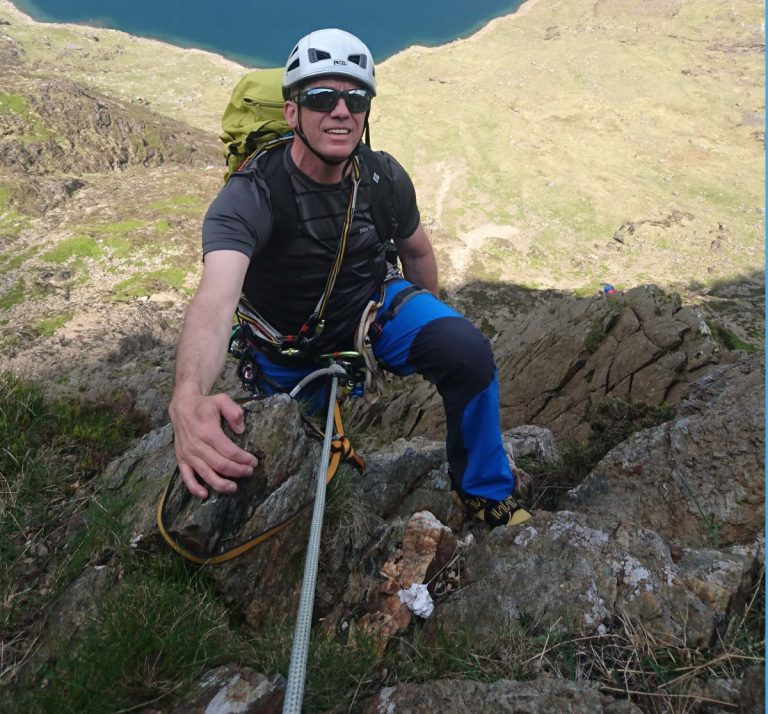 Guided Climbing in Snowdonia Higher Climbing Wales