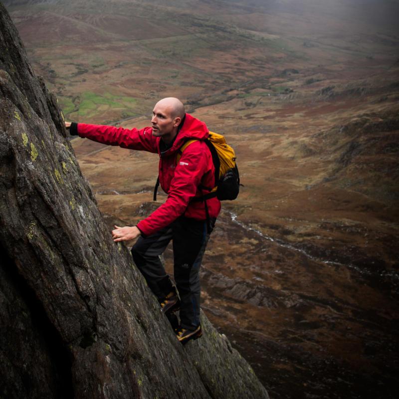Scrambling in Snowdonia Higher Climbing Wales