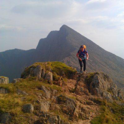 Mountain Walking in Snowdonia Higher Climbing Wales